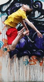 Feathers - John Scott - Irish Modern Dance Theatre - Tiger Dublin Fringe Festival - Dance at Project Arts Centre, Dublin