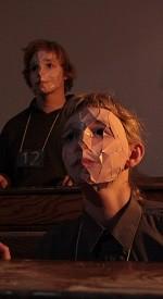 The Blue Boy - Brokentalkers - Performance at Project Arts Centre (photo Daniel Keane)