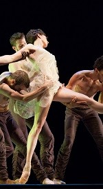 Constellation by Alonzo King as part of Dublin Dance Festival at Project Arts Centre, Dublin (photo © Margo Moritz)