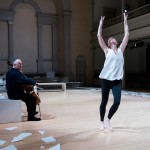 this is an Irish dance by Jean Butler and Neil Martin as part of Project 50 at Project Arts Centre, Dublin