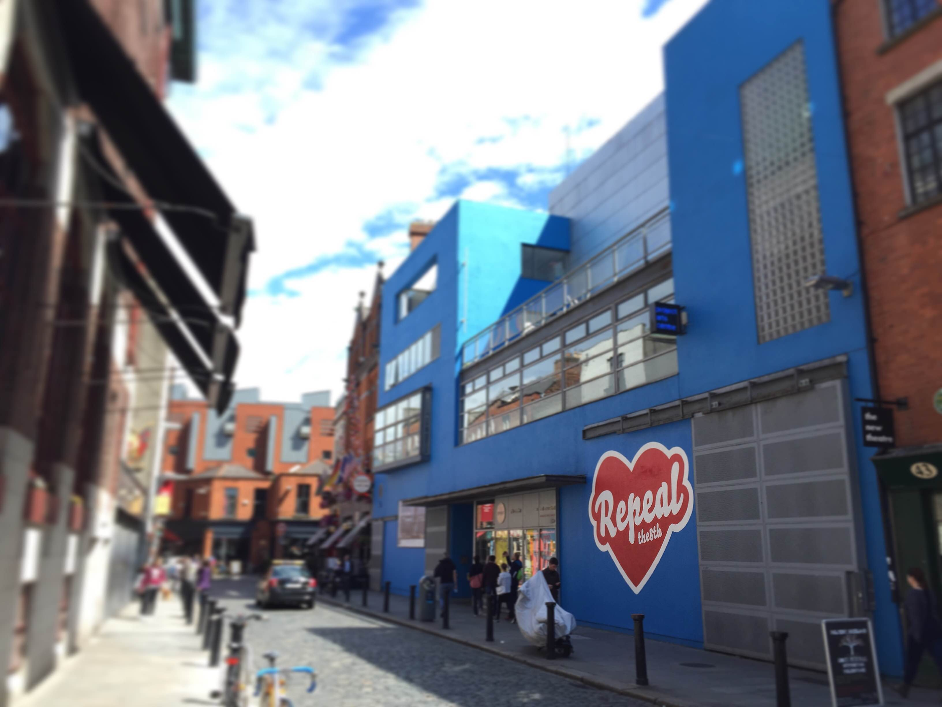 Repeal the 8th: Maser and The Hunreal Issues at Project Arts Centre