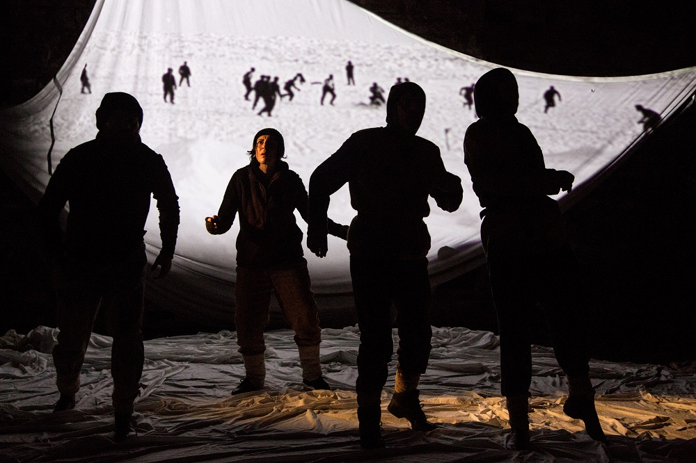 Shackleton by Blue Raincoat Theatre Company, Theatre at Project Arts Centre Dubli
