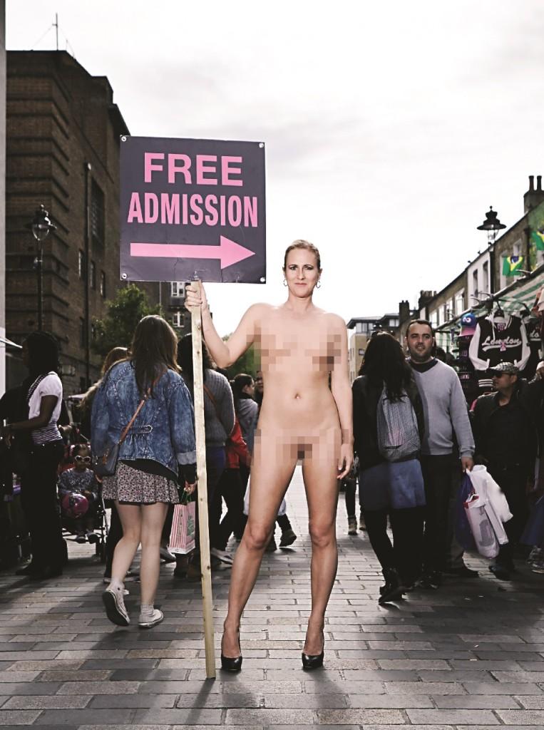 Ursula Martinez: Free Admission - Theatre at Project Arts Centre, Dublin