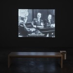 Alessandro Balteo-Yazbeck in collaboration with Media Farzin, Chronoscope, 1951, 11pm, HD Video, 24 min, 49 sec. Courtesy of the artist and Galerie Martin Janda, Vienna. Image courtesy of Project Arts Centre