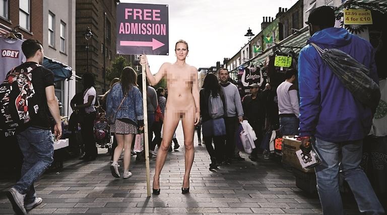 Ursula Martinez Free Admission - Theatre at Project Arts Centre, Dublin