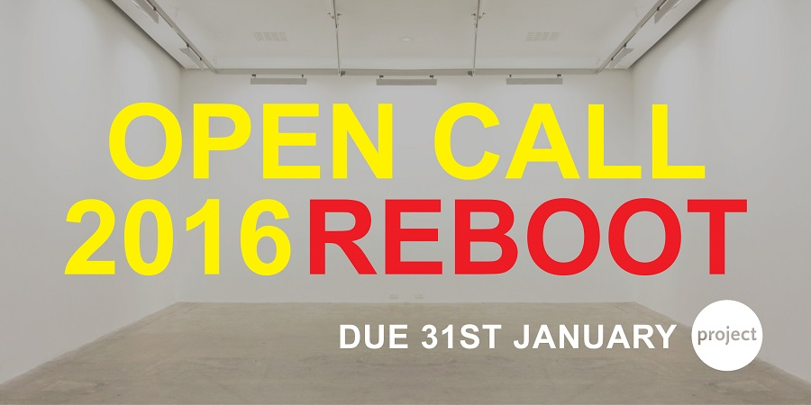 Open Call 2016 Reboot - Exhibitions at Project Arts Centre Dublin