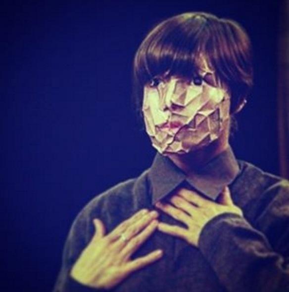 the Blue Boy - Brokentalkers - Project Arts Centre, Dublin - Rehearsal Shot Original