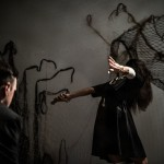 Tasting Blue (Megan Kennedy) arms back - Luca Truffarelli
