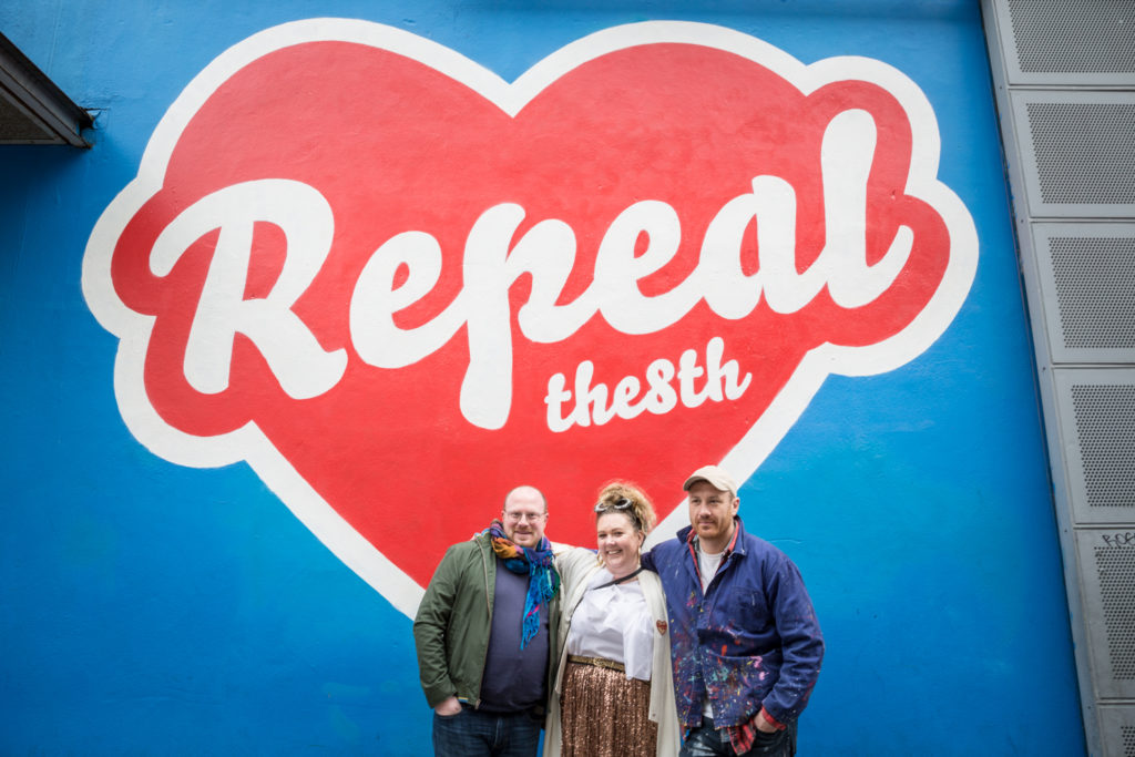 Repeal the 8th, Maser and HunReal Issues - Art and Exhibitions at Project Arts Centre, Dublin