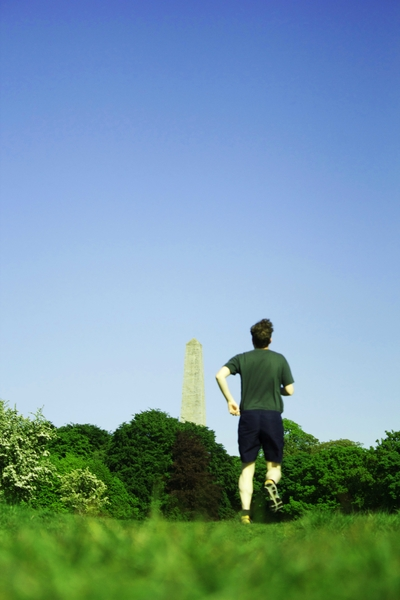 Walking + Running in the Phoenix Park by Martin Sharry - Dublin Fringe Festival at Project Arts Centre